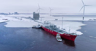 Wärtsilä - first LNG Tornio Manga receiving terminal