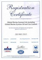 GMS - ISO-9001-2015 Certificate