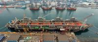 FLNG Hilli - Keppel Shipyard