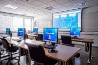 Kongsberg Maritime training classroom