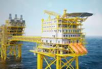 Maersk Oil - Tyra field accommodation platform