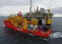 DeepOcean - Installation vessel Edda Freya in operation at Kristin field