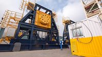 Maritime Developments - 800-tonne SWL (Safe Working Load) reel drive system (RDS)
