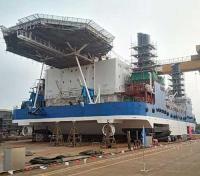 Mekers liftboat launch