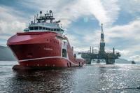Njord A tow - Thomas Sola/Statoil