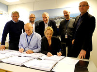 NorSea Group - Apply - Signing the contract at Vestbase, Kristiansund