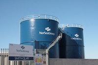 NorSea Group's new MGO tanks at Peterhead Scotland