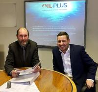 Oil Plus Ltd - Peter Sanders and Clarke Shepherd