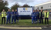 QA Weld Tech apprentices