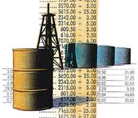 Oil price rises...