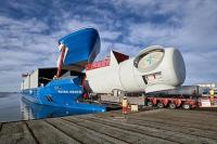 Siemens blade ship
