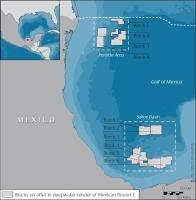 Statoil Mexico map