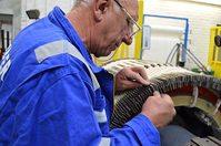 Sulzer - marine generator repair