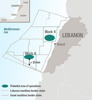 Total - Lebanon blocks
