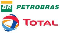Total - Petrobras logos