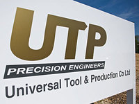Universal Tool and Production Company (UTP) logo