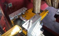 Webtool - Integrated emergency cutter for fibre rope winch